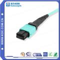 MTP / MPO Om4 12cores fibra óptica Patchcord