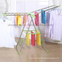 ABS Parts Stainless Steel Coat Rack Clothes Drier Hanger