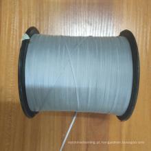 Fios reflexivos cinza prata praticidade para tricô