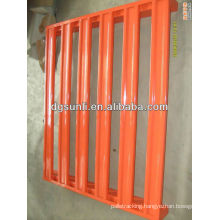 Stackable warehouse steel pallet