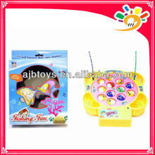 Fishing funny plastic battery operated fishing toy