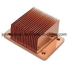 Dissipador de calor de cobre usado carro e auto
