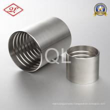 Sanitary Stainless Steel Hydraulic Hose Fitting Crimp Ferrule