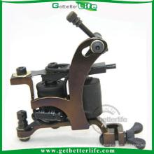 Bastidor de la máquina de tatuaje de sombreado del alta calidad hierro con 10 bobinas de