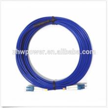 9/125 Singlemode Duplex Câble blindé LC-LC Fiber Patch Cord pour réseau FFTX