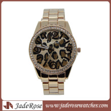 Custom Design Fashion Diamond Alloy Watches Women