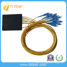 Alta calidad OEM precio Fibra red 3M 1x8 PLC Splitter