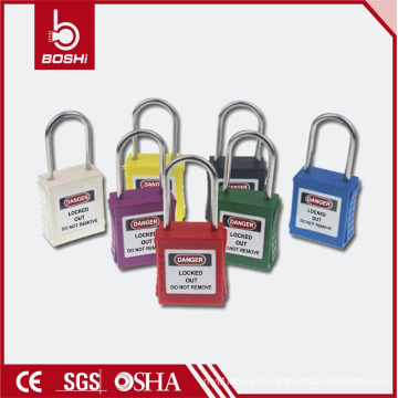 Caddie de sécurité à manille mince de 4 mm de diamètre (BD-G71) pour verrouillage de sécurité industrielle en utilisant
