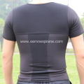 Neoprene hot body shaper T-shirt for men