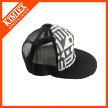 Custom custom snapback mesh manufactory avec votre propre logo