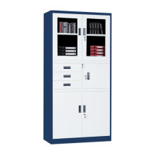 Steel filing storage cabinet Office Three Drawers Steel Filing Cabinet with Safe box and lock