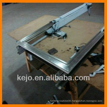 Machine for rolling up shutter doors