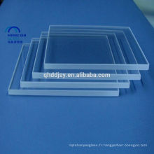 6mm clair / verre de flotteur ultra clair avec du CE, GV, certificats d'OIN