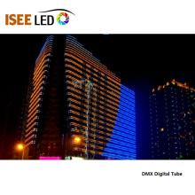 Линейный свет RGB DMX для фасада здания