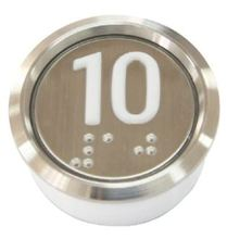 エレベーターのプッシュ ボタン全天候型衝突防止防塵