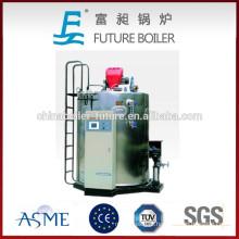 Caldeira a vapor com baixo consumo de gás