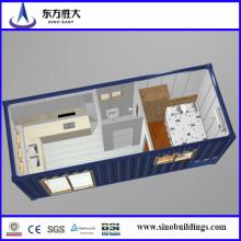 Мобильный контейнер / контейнер 20 контейнеров / сборный дом контейнеров / дом контейнеров / EPS