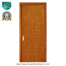 Porte en bois composite solide de style moderne pour la pièce (DS-083)