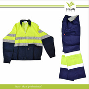 Custom Worker Coverall Suit Uniform Design (F111)