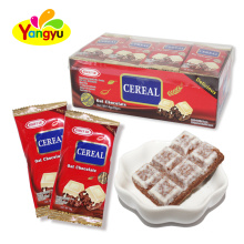 Halal  cereal  Oat chocolate cube  custom candy