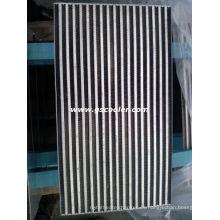 Núcleo de aire del intercambiador de calor de aluminio