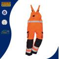 En471 High Vis Baumwollsicherheit Arbeitskleidung Gesamt Bib Brace