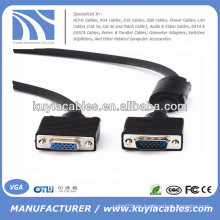 VGA-Stecker auf weibliches Kabel für Monitor-Verlängerungskabel