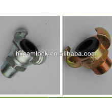Universal crowfoot couplings Male end