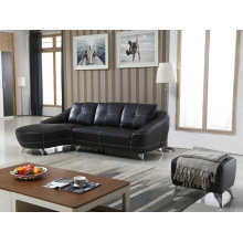Europe Sofa, Simple Leather Sofa, Living Room Furniture (959)