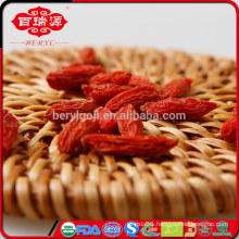 Low pesticide residue dried goji berries