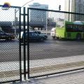 9 gauge chain link diamond iron fence