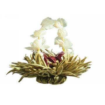 Xian Nv San Hua chá de florescência verde-BMG064