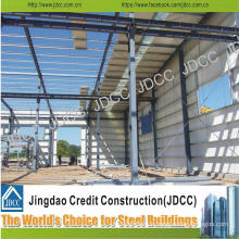 Color Steel Sheeting Light Steel Structure Workshop