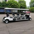 Chariot de golf électrique de vente directe d'usine de 8 sièges pour le tourisme, certificat de la CE de chariot de navette