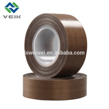 Clear ptfe coated fiberglass adhesive teflon tape