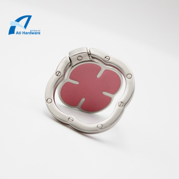 Four-leaf Clover Design Phone Ring Enamel Bracket