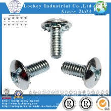 Truss Head Phillips Machine Screw, Zinc Plated