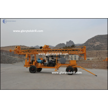 GL-IIA Trailer Water Drilling Machine for Sale