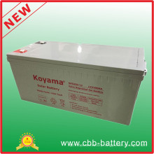 Solar Batteries 12V200ah for Solar Power System