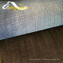 Tissu en laine sergé de coton pour chemises pour hommes