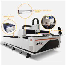4Ft 8Ft Laser Cutter CE Certificate Cnc Fiber Laser Cutting Metal Sheet Laser Cutting Machine For Export