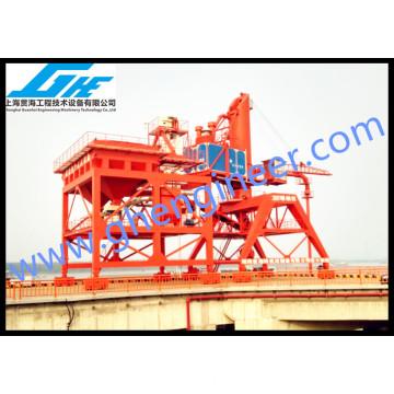 250TPH Rail Montado Mobile Pneumatic Ship Unloader