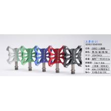 Pédale de vélo en aluminium CNC complète 3 Sceau de roulement Pédale de vélo ultralégère à axe de titane 185g / 1pair