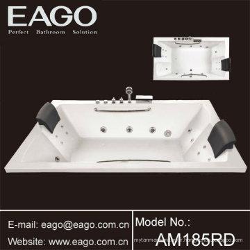 Baignoire balnéo en acrylique baignoire hydromassage / baignoire pour deux ou quatre personnes