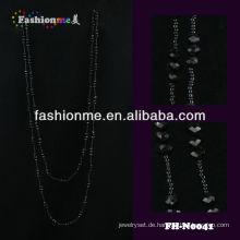 billige handgemachte Mode Halskette aus Glasperlen