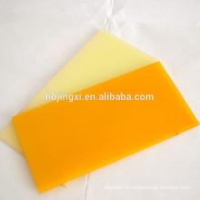 Feuille en plastique de PU de polyuréthane de vente chaude