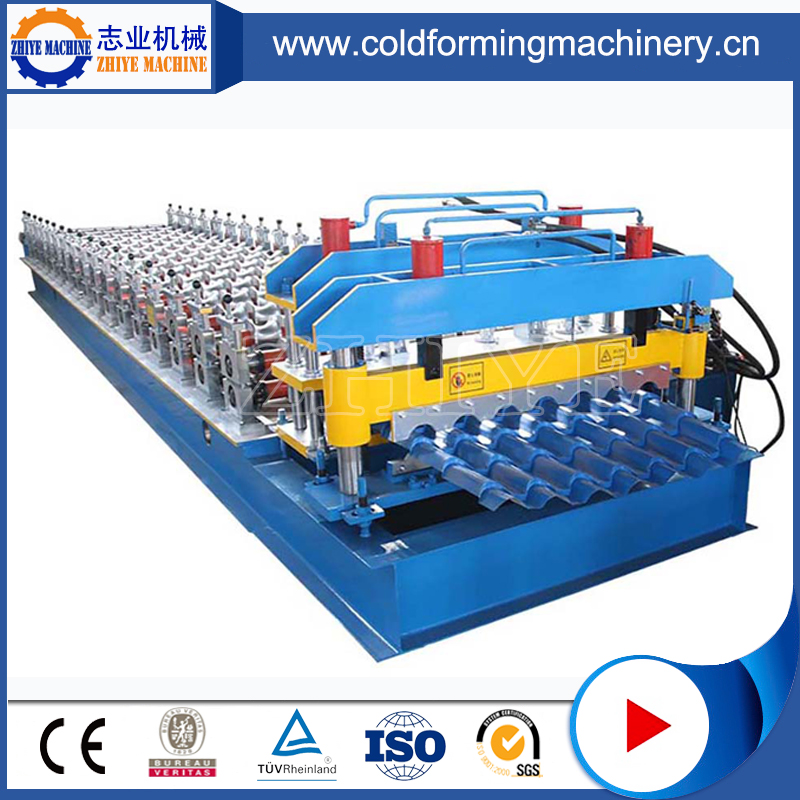Metal Step Tile Cold Forming Machine