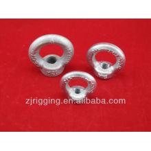 Perno de ojo de elevación forjado gota de acero de alta resistencia Din580