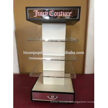 Spinning With Mirror Custom Cosmetics Store ou Eyewear Wholesale Shop Acrílico Tabletop Display Rack