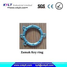 Кольцо для ключей с цинковым покрытием
